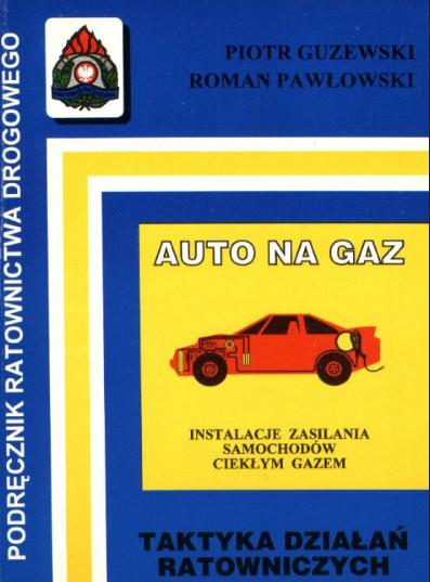 Książka auto na gaz