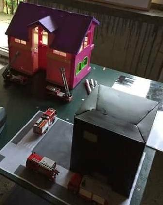Makiety domków