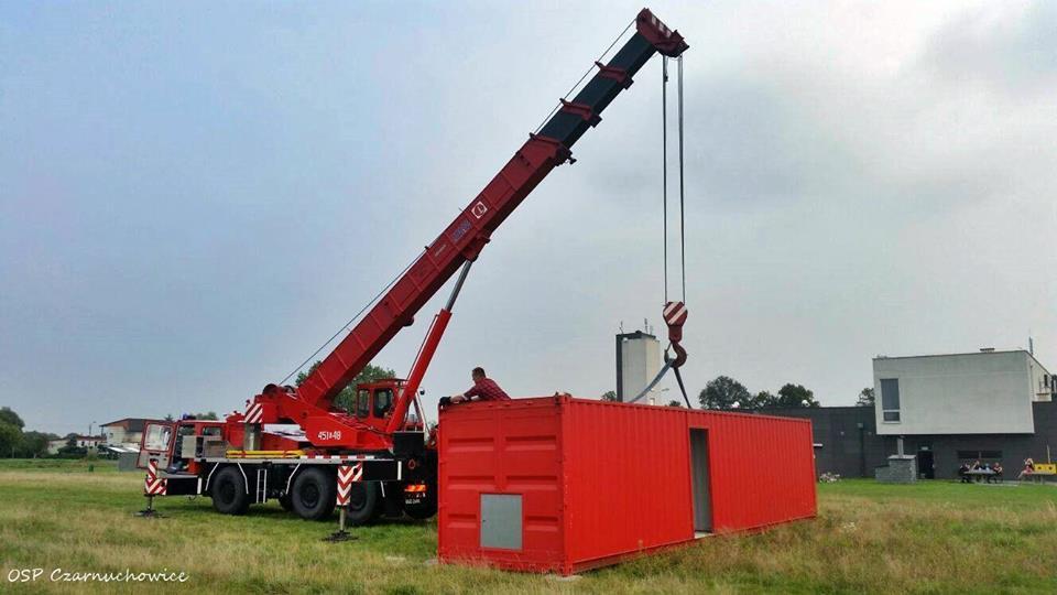 Zbiórka pieniężna na ukończenie trenażera ogniowego w OSP Czarnuchowice (woj. śląskie)