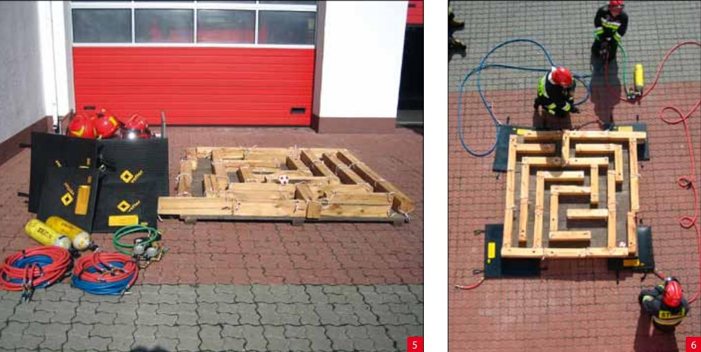 pomysły na ćwiczenia w straży przegląd pożarniczy