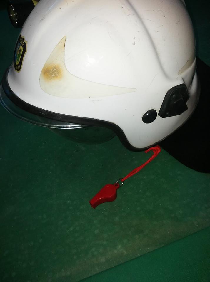 Gwizdek w straży pożarnej