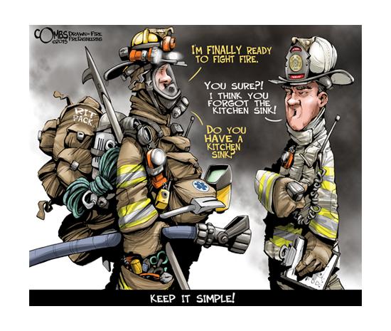Co najmniej 30 propozycji na dodatkowe wyposażenie strażaka