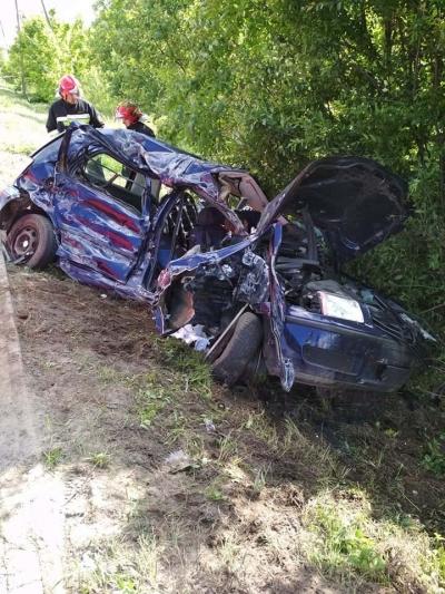 Opowieści z akcji wypadek samochodu