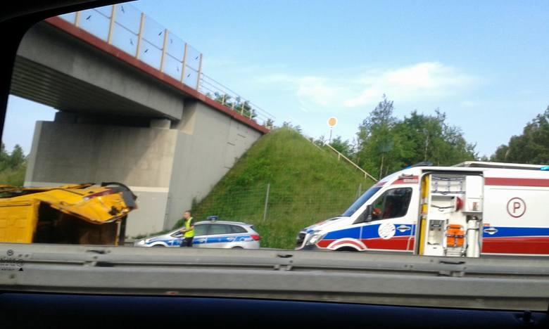 Felietony straż wypadek na autostradzie