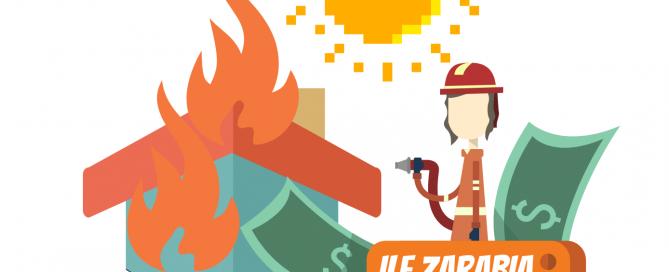 Ile zarabia strażak stażysta?