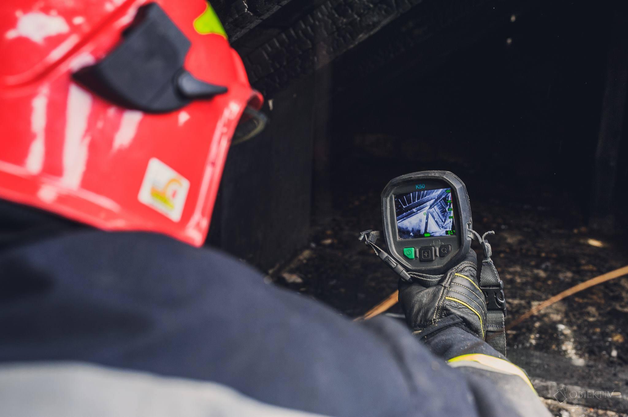 Jaka kamera termowizja do pożaru