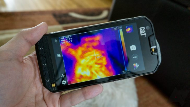 Cat S60 z kamerą MyFlir