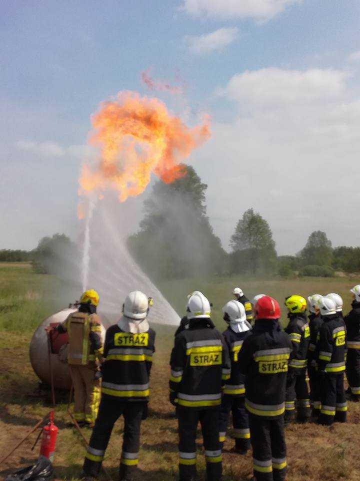 Jetfire gaszenie wodą