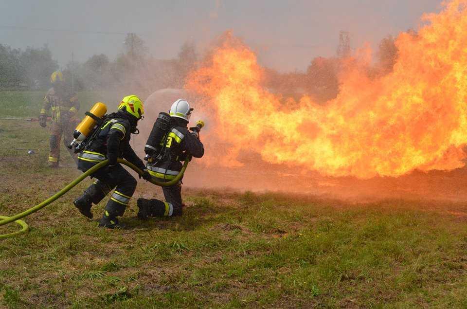 Gaszenie zbiorników LPG OLC FIRE