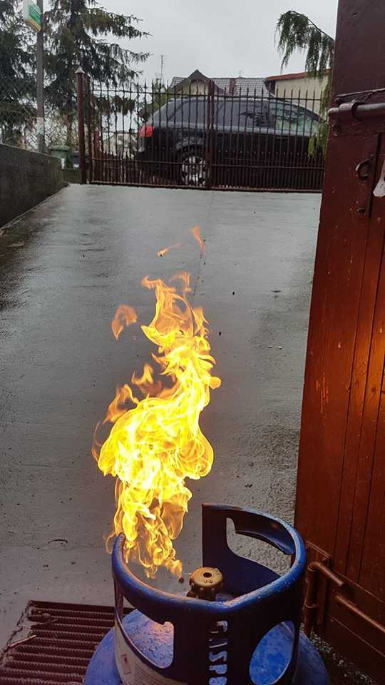 butla LPG wypalana strumieniowo