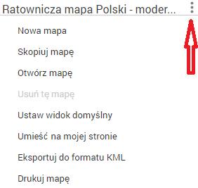 opcje mapa