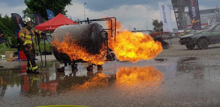 """Pożary wewnętrzne i trenażer LPG"""""""