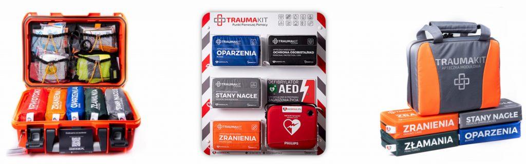 trauma kit aedmax